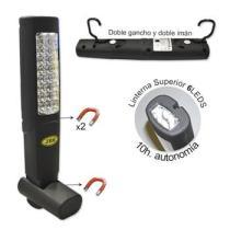 JBM 51889 - PORTATIL TALLER LEDS(PILAS AAA)MINI