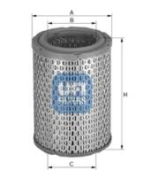 Filtros ufi 2708500 - FILTRO OPEL *