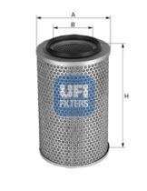 Filtros ufi 2714100 - FILTRO IVECO *