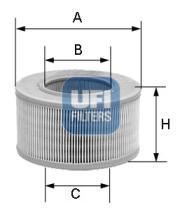 Filtros ufi 2714900 - FILTRO RENAULT *