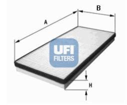 Filtros ufi 5300100 - FILTRO OPEL, VAUXHALL *