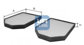 Filtros ufi 5300900 - FILTRO AUDI (PRECIO U. X 2 UDS.) *